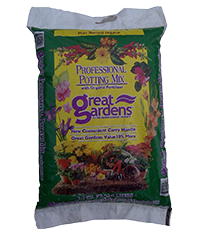 great gardens professional potting mix