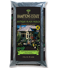 hamptons estate black mulch