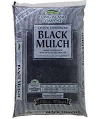 Long Island Compost® Color Enhanced Black Mulch