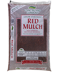 Long Island Compost® Color Enhanced Red Mulch